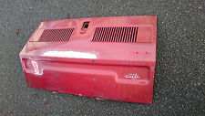 Fiat 126 aircooled Engine Bootlid RED
