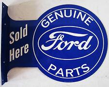 Ford Genuine Parts  Flange Metal Sign