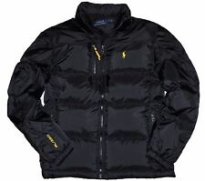 NWT Ralph Lauren Polo Big & Tall Men's Down Jacket Trek Black Winter Coat 4XLT