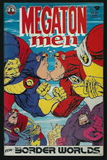 MEGATON MEN US KITCHEN-SINK COMIC VOL.1 # 9/'86