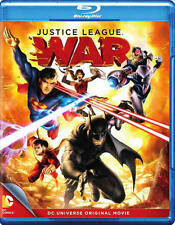 JUSTICE LEAGUE WAR (Blu Ray/DVD) - No Digital - Free Shipping