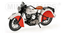 1:12 Minichamps Indian Sport Scout 1940 Dark Red-White RARE NEW!!