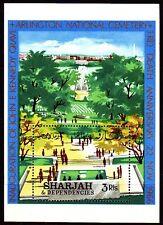 Sharjah 1966 ** Bl.20 A John F. Kennedy JFK