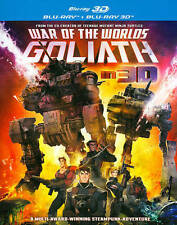 War of the Worlds: Goliath (Blu-ray Disc, 2014, 2-Disc Set) BRAND NEW