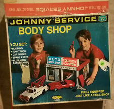 topper toys johnny service body shop rare toy vintage collectible with box