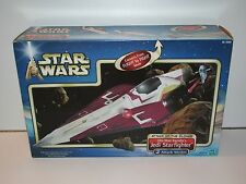 STAR WARS 2002 HASBRO SAGA COLLECTION OBI-WAN KENOBI'S JEDI STARFIGHTER MISB