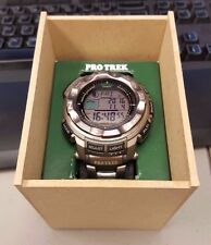 Casio ProTrek Pathfinder Titanium Wristwatch Watch PRW2500T-7CR PRW2500T-7