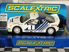 SCALEXTRIC FORD RS200  #1  WHITE  RALLY SWEDEN 1986   C3493  1.32  BNIB