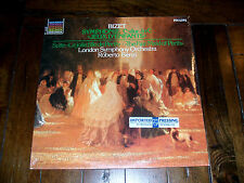 Bizet Jeux D'Enfants London Symphony Roberto Benzi 1982 SEALED M- LP Netherlands