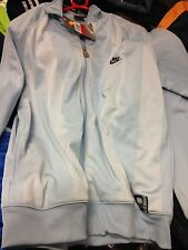 NIKE TRACKSUIT TOP IN  40/42  sky VINTAGE AT £22 oregon usa BNWL