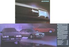 Mazda 626 Range 1983-85 Original UK Sales Brochure inc. Coupe No. 626/4/83