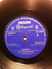 THE SPRINGFIELDS BAMBINO  PHILIPS RECORDS 1178 60s POP