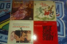 Soundtrack Vinyl Lp Records Lot (Wizard of Oz and more!!!)
