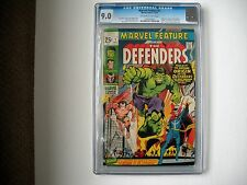 Marvel Feature #1 (Dec 1971, Marvel) 9.0 CGC   Origin & 1st app The Defenders