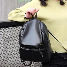 Women's Leather Shoulder Backpack School Bag Travel Satchel Bookbag Vintage Bags