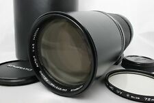 OLYMPUS OM-SYSTEM F.ZUIKO AUTO-T 300mm f4.5 with Case Near Mint from Japan