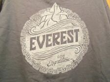 EVEREST Climbing Crew 2015 Expedition L t shirt graphic