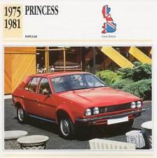 1975-1981 AUSTIN PRINCESS Classic Car Photograph / Information Maxi Card