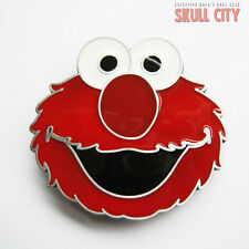 ELMO BUCKLE - Belt BUCKLE - Cookie Monster Sesamstrasse Cookie Monster Elma