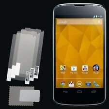 3x CLEAR PET Screen Protector for LG Google Nexus 4 E960