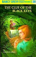 #28 NANCY DREW The Clue of Black Keys NEW Flashlight GLOSSY Hardcover