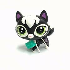 Littlest Pet Shop LPS Countess Cattery #3954 black Kitty Cat