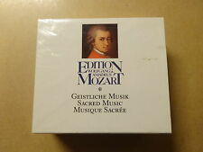 4 CD BOX / MOZART EDITION: SACRED MUSIC / GEISTLICHE MUSIK / MUSIQUE SACREE -NEW