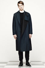 $975 NWT Authentic ALEXANDER WANG Water Resistant Nylon Trench Coat 48 XL