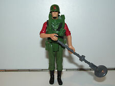1983 GI JOE / ACTION FORCE Z-FORCE MINESWEEPER 'LONG BOOTS' 99% COMPLETE PALITOY
