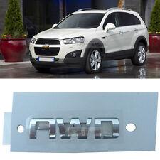OEM Rear Trunk AWD Lettering Chrome Logo Emblem For CHEVROLET 2006-2017 Captiva