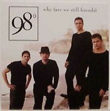 98 DEGREES Why DREW & NICK LACHEY PROMO DJ CD Single 02