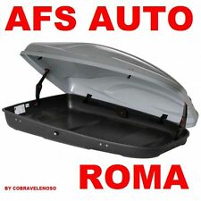 BOX AUTO PORTASCI G3 ABSOLUTE 480 LT.ARGENTO METAL MADE IN ITALI