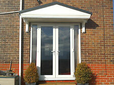 Pacific GRP Door Canopy 5 Year Guarantee 2400mm wide Includes Gallow Brackets L*