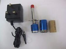 Detachable GLOW PLUG IGNITER/SANYO 2500mah battery(metal back caps)+240V charger