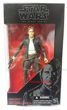 Star Wars The Force Awakens Black Series 6 Inch Han Solo Figure IN STOCK