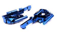 Integy Aluminum Billet Machined Front Bulkhead 1/10 E-Revo Revo 3.3 T3295BLUE