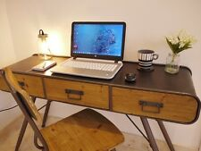 Retro Industrial Vintage Metal & Wood Retro Industrial Desk/Computer Desk/Study