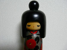 Vintage Japanese Kokeshi Doll Girl Okappa Sosaku 10 Inches