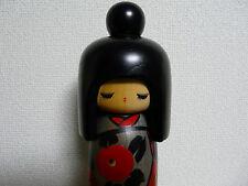Vintage Japanese Kokeshi Doll Girl Okappa Sosaku 10 Inches