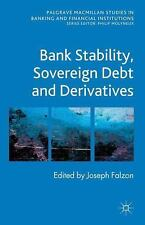 NEW - Bank Stability, Sovereign Debt and Derivatives