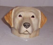 QUAIL Yellow Labrador Faced Egg Cup NEW