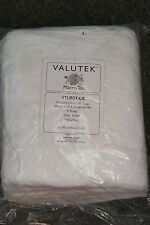 new valutek macro tek vtlbct-md pp 5 snap lab coat size med ~ 10 ct