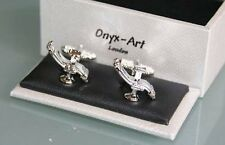 Novelty Cufflinks - Dentist Chair Design * New * Boxed Gift