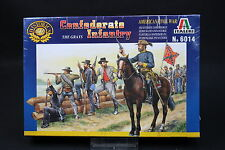 XU096 ITALERI 1/72 figurine 6014 Confederate The Graw Infantry American Civil W