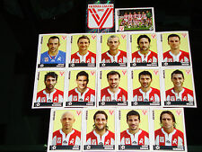 FIGURINE CALCIATORI PANINI 2006-07 SQUADRA VICENZA CALCIO FOOTBALL ALBUM