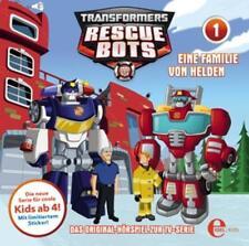 Transformers:Rescue Bots - (1)Original Hsp Z.TV-Serie-Eine Familie Von Helden