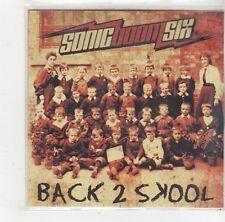 (FS278) Sonic Boom Six, Back 2 Skool - 2009 DJ CD