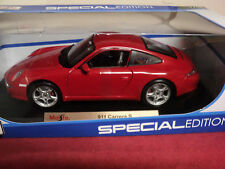 Maisto  Porsche 911 Carrera S  1/18th scale new in box 2014  release