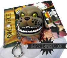 ONE PIECE Monkey D. Garp PORTACHIAVI cane dog hat cappello cosplay keychain rufy