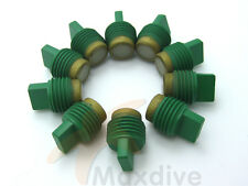 10pcs/bag Scuba Valve Seat Assembly Teflon Coated Nylon Insert # VS10BN-A